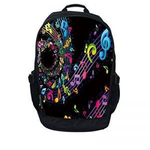 Luxburg® Luxe étui sac à dos/sac à dos pour ordinateur portable 17–Musique Vortex de la marque Luxburg® image 0 produit