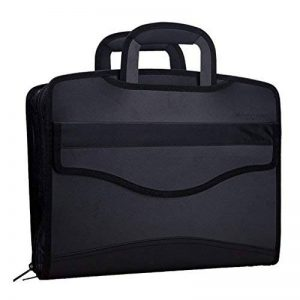 LY® Sac d'Affaires MultiFonction Grande Capacité Pour Homme Commercial Trieur A4 Serviette Porte-documents Sacoche Pour MacBook Tablette de la marque LY image 0 produit