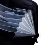 LY® Sac d'Affaires MultiFonction Grande Capacité Pour Homme Commercial Trieur A4 Serviette Porte-documents Sacoche Pour MacBook Tablette de la marque LY image 3 produit