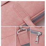 """Mode PU Cuir pour ordinateur portable Sacs pour femme 1313.3141515.61743,9cm décontracté Portable étanche sacoche pour ordinateur portable pour homme 17.3"""" Pink Luxury de la marque j.qmei image 4 produit"""