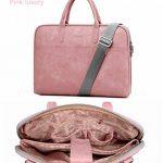 """Mode PU Cuir pour ordinateur portable Sacs pour femme 1313.3141515.61743,9cm décontracté Portable étanche sacoche pour ordinateur portable pour homme 17.3"""" Pink Luxury de la marque j.qmei image 2 produit"""