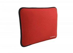 """Modecom Housse en néoprène pour ordinateur portable 40,64-45,72 cm/16-18"""" Rouge de la marque Mode Com image 0 produit"""