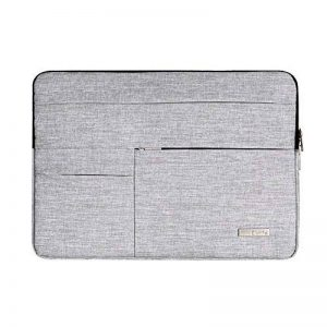MojiDecor 13-13,3 Pouces Serviette / Pochette / Sacoche / Housse pour Ordinateur PC Portable Laptop Macbook Etanche Antichocs Gris de la marque MojiDecor image 0 produit