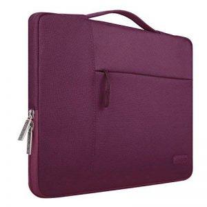 Mosiso 11-11,6 Pouces Housse MacBook Air 11,Sacoche Polyester Tissu Multifonctionnel Sac macbook air/Ultrabook/Netbook/Tablette, Vin Rouge de la marque Mosiso image 0 produit