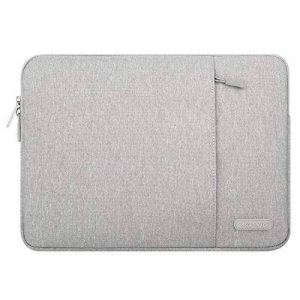Mosiso 13-13,3 Pouces Housse MacBook Air 13,MacBook Pro Retina 13,iPad Pro 12.9,Pochette Polyester Vertical Style Étanche Serviette Ordinateur Portable,Sac à Main, Gris de la marque Mosiso image 0 produit