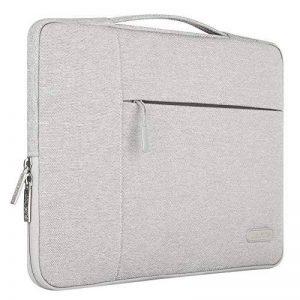 Mosiso 13-13.3 Pouces Housse MacBook Air 13, MacBook Pro Retina 13, Serviette Ordinateur Portable, Notebook, Sac à Main Polyester Tissu Multifonction, Gris de la marque Mosiso image 0 produit
