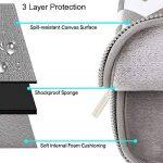 MOSISO Chevron Style Tissu de Toile Housse pour 12,9 iPad Pro et 13-13,3 Pouces Ordinateur Portable/Netbook / MacBook Pro/MacBook Air, Gris de la marque Mosiso image 2 produit