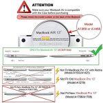 Mosiso Coque Autocallant pour MacBook Air 13 Pouces A1369 / A1466, Ultra Mince Plastique Étui Rigide Protection MacBook Air 13 Pouces, Noir Marbre de la marque Mosiso image 1 produit