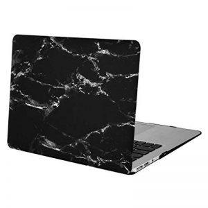 Mosiso Coque Autocallant pour MacBook Air 13 Pouces A1369 / A1466, Ultra Mince Plastique Étui Rigide Protection MacBook Air 13 Pouces, Noir Marbre de la marque Mosiso image 0 produit