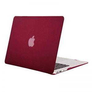 Mosiso Coque MacBook Air 13 Pouces A1369 / A1466 - Ultra Mince Plastique Étui Rigide Protection MacBook Air 13 Pouces, Vin Rouge de la marque Mosiso image 0 produit