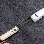 Mosiso Feutre Sac à Bandoulière Sacoche pour Ordinateur Portable Housse pour 13-13.3 Pouces MacBook Air/MacBook Pro/Ultrabook, Noir de la marque Mosiso image 4 produit