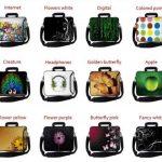 MySleeveDesign Sacoche en néoprène pour ordinateur portable avec bandoulière 15,6 pouces / 17,3 pouces - PLUSIEURS MODELES - Butterfly Light [17] de la marque MySleeveDesign image 4 produit