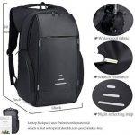 Netchain Sac à Dos Ordinateur Portable pour 15.6 Pouces avec Port de Charge USB Sac à Dos Antivol Sac à Dos Résistant à l'eau pour Hommes et Femmes de la marque image 2 produit