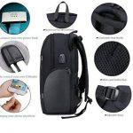Netchain Sac à Dos Ordinateur Portable pour 15.6 Pouces avec Port de Charge USB Sac à Dos Antivol Sac à Dos Résistant à l'eau pour Hommes et Femmes de la marque image 3 produit