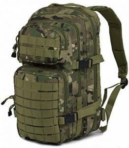 Nitehawk - Sac à dos multifonction avec système d'attache MOLLE - style militaire - 30 L de la marque Nitehawk image 0 produit