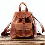 PAUL MARIUS petit sac à dos en cuir couleur Naturel style vintage LE BAROUDEUR de la marque Paul Marius image 1 produit