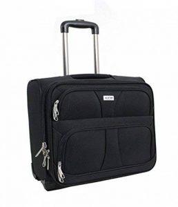 Pilot Case ALISTAIR - Trolley - 16 pouces - Nylon - Noir de la marque Alistair image 0 produit