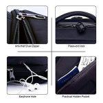 Platero P-U01B pour Ordinateur Portable Sac à Dos pour Ordinateur Portable Noir, 39.6 cm de la marque PLATERO image 4 produit