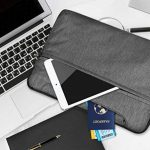 PLEMO Housse Sacoche LB-002 pour PC Ordinateur Portable 13 - 13.3 Pouces, Pochette Bandoulière avec Poignée Sac à Main pour MacBook Pro MacBook Air Notebook Ultrabook iPad Pro Samsung Sony HP, Gris de la marque Plemo image 4 produit