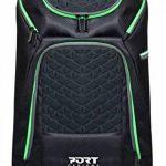 """Port Designs GAMING Backpack 17,3"""" - Sac à dos multicompartiments pour PC portable / souris / casque / clavier de la marque Port Designs image 2 produit"""