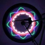 Portable Waterproof 32-LED Bicycle Bike Riding Spoke Lights Reflective Rim Light for MTB Wheel Tire Cycling Accessories de la marque Gwendoll image 4 produit