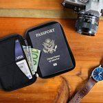 Porte-Passeport Zero Grid - Porte-Documents de Voyage avec Blindage RFID de la marque Zero Grid image 4 produit