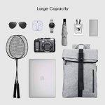 REYLEO Sac à Dos Homme Femme pour Ordinateur Portable de la marque REYLEO image 4 produit
