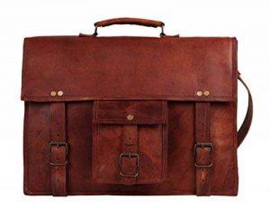 rustictown en cuir véritable Sac pour ordinateur portable 15Prime Jour vente de la marque Rustic Town image 0 produit