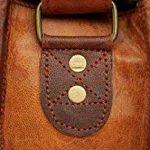 rustictown en cuir véritable Sac pour ordinateur portable 15Prime Jour vente de la marque Rustic Town image 4 produit