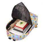 Sac à dos EMOJI, Gracosy Impémeable Super léger 35L Design Smiley Kawaii Backpack Cartable pour École Fille Garçon de la marque Gracosy image 2 produit