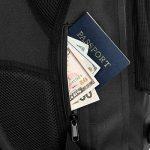 Sac à dos étanche - Ultralight 40L Dry Pack avec poche pour ordinateur portable amovible et poche passeport secrète de Cor Surf | le pack parfait pour les voyages ou les sports nautiques en plein air | Sac à dos pour homme de la marque COR Surf image 2 produit