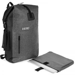 Sac à dos étanche - Ultralight 40L Dry Pack avec poche pour ordinateur portable amovible et poche passeport secrète de Cor Surf | le pack parfait pour les voyages ou les sports nautiques en plein air | Sac à dos pour homme de la marque COR Surf image 0 produit