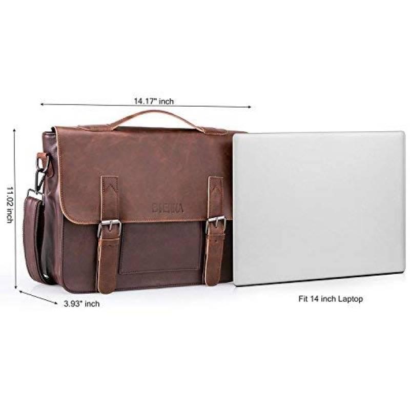 a9707084e5 Sac Bandoulière, XY-shell Messenger Bag Sac à bandoulière en Cuir PU 14  pouces Laptop Briefcase Hommes Femmes pour Travail et Scolaire - Noir de la  marque ...