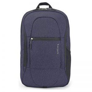 """Sac à dos 22 litres pour ordinateur portable Urban Commuter Targus TSB89602EU Idéal pour les trajets quotidiens et les escapades d'un week-end. Adapté aux ordinateurs portables jusqu'à 15,6"""" – Bleu de la marque Targus image 0 produit"""