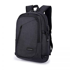 Sac à dos antivol, sac à dos 35L Daypack avec interface de port de chargement USB et verrouillage par mot de passe, sac à dos étanche quotidien, sac à dos pour ordinateur portable 12-16 pouces, étudia de la marque EverFabulous image 0 produit