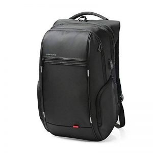 """Sac ¨¤ dos Antivol USB et Port de charge Antipluie Fashion en nylon Ordinateur portable/Tablette PC ¨¤ 13""""-15"""" de la marque KINGSONS image 0 produit"""
