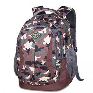 Sac à dos d'école de sacs à dos pour le sac d'épaule de sac à dos d'ordinateur portable de lycée pour des garçons et des filles de la marque Teman image 0 produit