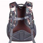 Sac à dos d'école de sacs à dos pour le sac d'épaule de sac à dos d'ordinateur portable de lycée pour des garçons et des filles de la marque Teman image 2 produit