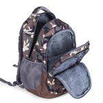 Sac à dos d'école de sacs à dos pour le sac d'épaule de sac à dos d'ordinateur portable de lycée pour des garçons et des filles de la marque Teman image 3 produit