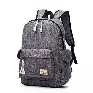 Sac à dos pour ordinateur portable 17 pouces pour 15,6 '' 16 '' ordinateur portable sac à dos étanche pour hommes et femmes (gris) de la marque Aumaric image 0 produit