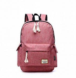 Sac à dos pour ordinateur portable 17 pouces pour 15,6 '' 16 '' ordinateur portable sac à dos étanche pour hommes et femmes (rose) de la marque Aumaric image 0 produit