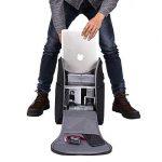 Sac à dos pour ordinateur portable, Beyle Sac d'ordinateur de voyage pour homme et femme, anti Vol Water-resistent College School pour sac à dos, FIN Business USB Ports de chargement Compatible avec moins de 39,6cm pour ordinateur portable et ordinateur image 3 produit