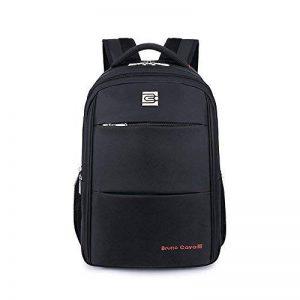 """Sac à dos étanche moderne, pour ordinateur portable, pour homme et femme - Evay 17.3"""" Noir de la marque Evay image 0 produit"""