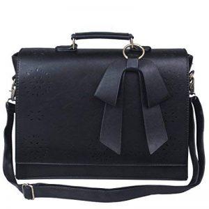 sac en cuir pour ordinateur portable femme TOP 1 image 0 produit