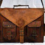 sac en cuir sacoche en cuir sac a main sac messager porte epaule cuir veau en Hommes pour Ordinateur Portable sac By ANUENT de la marque ANUENT image 3 produit