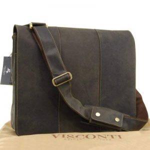 Sac gibecière extra large pour PC portable 17'' marron signé Visconti (16019) de la marque Visconti image 0 produit