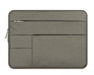 Sac Pochette Sacoche Polyester Tissu Housse Manche avec Multi-Poches Latérale pour Ordinateur Portable/Ultrabook/Acer/Asus/Dell/HP/Lenovo de la marque MISSMAO image 0 produit