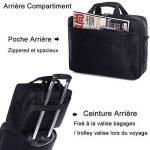 sacoche cuir pc portable 17 pouces TOP 9 image 4 produit