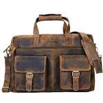 sacoche pc portable 15.6 cuir TOP 12 image 1 produit