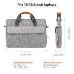 sacoche pc portable 15.6 cuir TOP 13 image 4 produit